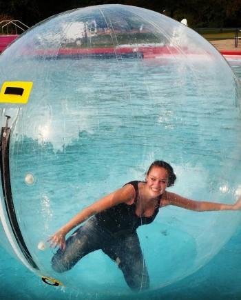 aqua bubbels waterballen zeeland goes